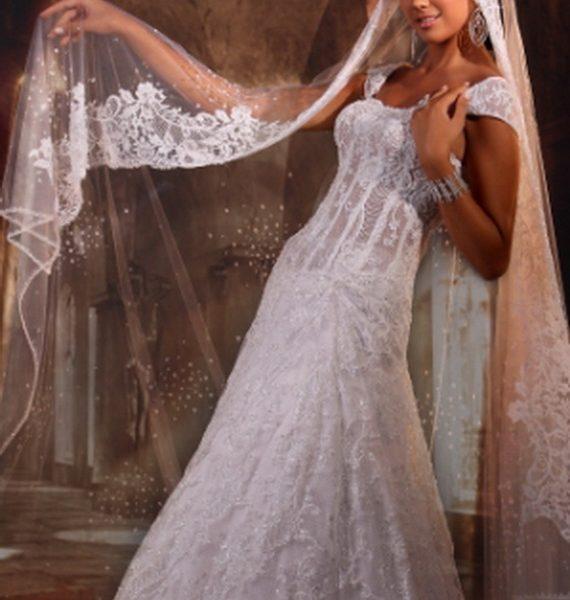 4ced7150ff4e7 فساتين زفاف سعودى 2019