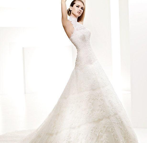 ee82546c117ca موديلات جديدة لفساتين الأعراس 2019 ، فساتين بيضاء منفوشة 2019 - حنين ...