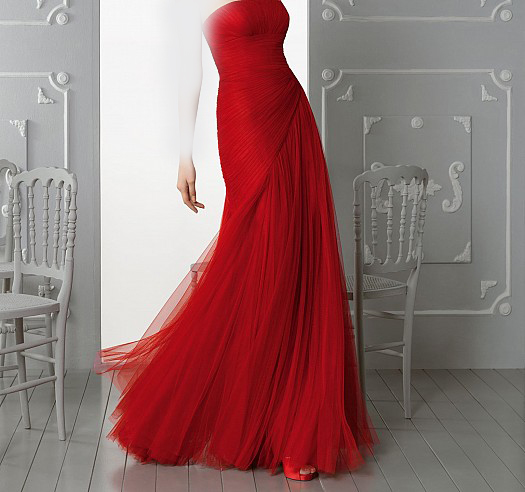 d3acb004a فساتين سهرة حمراء 2019 ، Long Red Dresses 2019 - حنين الحب