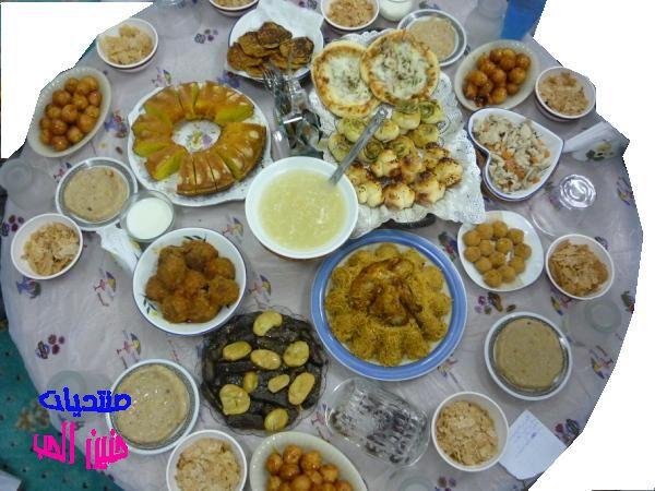 Ananiver تجديد ثلاثة صور سفرة افطار رمضان Alterazioni Org